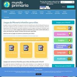 Juegos de Memoria infantiles para niños gratis