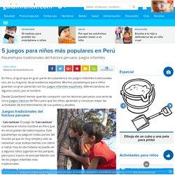 5 juegos para niños más populares en Perú