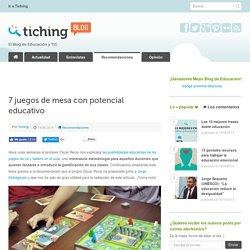7 juegos de mesa con potencial educativo