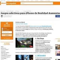 Juegos para iPhone con Realidad Aumentada
