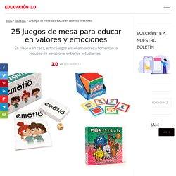 Juegos para educar en valores y emociones