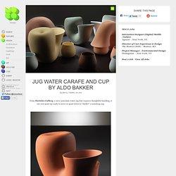 Jug Water Carafe and Cup by Aldo Bakker