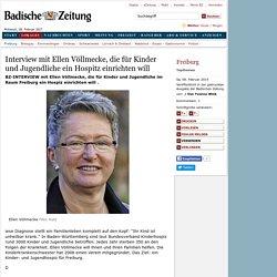 Freiburg: Interview mit Ellen Völlmecke, die für Kinder und Jugendliche ein Hospitz einrichten will