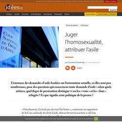 Juger l'homosexualité, attribuer l'asile
