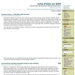 Juha-Pekka on DSM