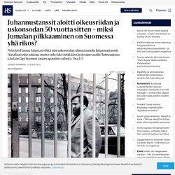 Juhannustanssit aloitti oikeusriidan ja uskonsodan 50 vuotta sitten – miksi Jumalan pilkkaaminen on Suomessa yhä rikos?