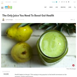 Juice For Better Digestion