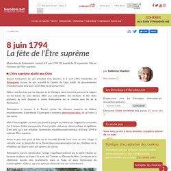 8 juin 1794 - La fête de l'Être suprême