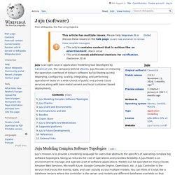 Juju (software)