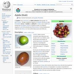 Jujube (fruit)