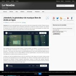 Jukedeck, le générateur de musique libre de droits en ligne