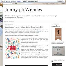Julberättelser - Jennys julkalender den 7 december 2018