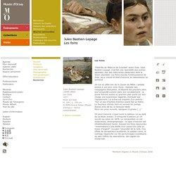 Jules Bastien-Lepage Les foins