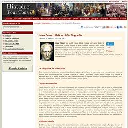 Jules César (100-44 av J.C) - Biographie