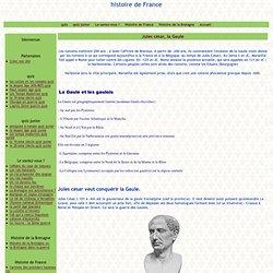 Jules césar, la Gaule - histoire de France