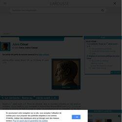 Jules César en latin Caius Julius Caesar