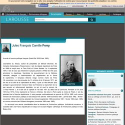 Jules François Camille Ferry