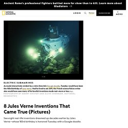 8 Jules Verne Inventions That Came True (Pictures)