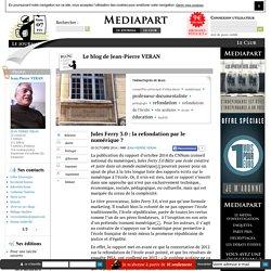 Jules Ferry 3.0 : la refondation par le numérique ?