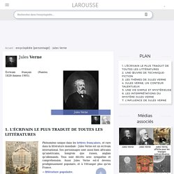 Jules Verne - article biographique larousse