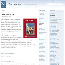 Jules Verne & Cie, le site des revues culturelles