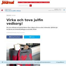 Virka och tova julfin vedkorg! – Hemmets Journal
