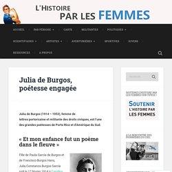 Julia de Burgos, poétesse engagée