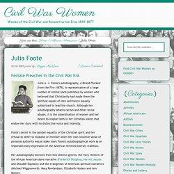Julia Foote