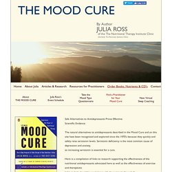 Julia Ross' THE MOOD CURE