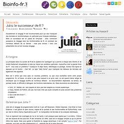 Julia: le successeur de R ?