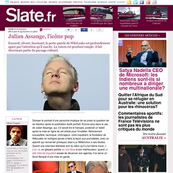 Julian Assange, l'icône pop