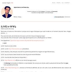 [LIVE] e-WW3