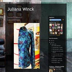 Juliana Winck: CAMISA BÁSICA FEMININA