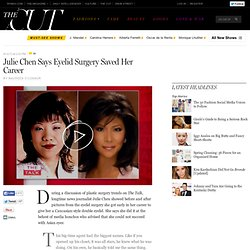Julie Chen Says Eyelid Surgery Saved Her Career