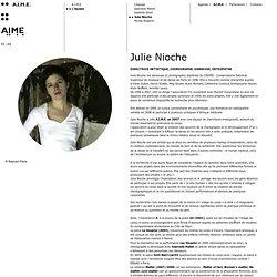 Julie Nioche - L'équipe - A.I.M.E. - AIME