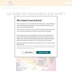 Le Julie de novembre est sorti ! - Juliemag