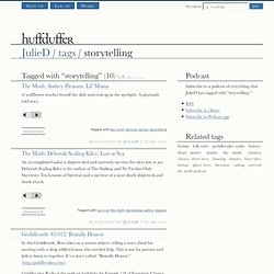 JulieD : storytelling on Huffduffer