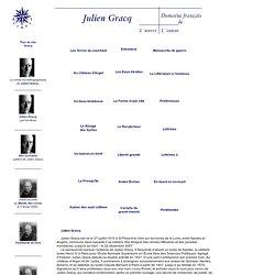 Julien Gracq, le site : bio-bibliographie. Éditions Corti