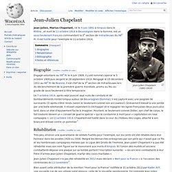 Jean-Julien Chapelant