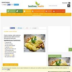 Julienne, sauce au safran : facile et rapide à réaliser