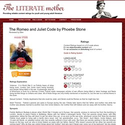 The Romeo and Juliet Code by Phoebe Stone Content Rating and Review