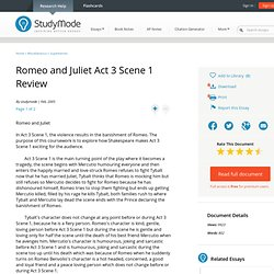 romeo and juliet term papers