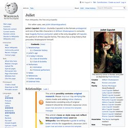 Juliet - Wikipedia