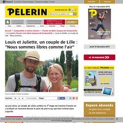 """Louis et Juliette, un couple de Lille : """"Nous sommes libres comme l'air"""""""