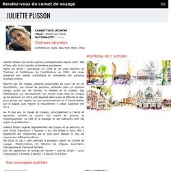 Juliette Plisson - Rendez-vous du carnet de voyage