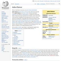 Julio Chávez