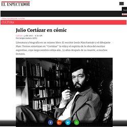 Julio Cortázar en cómic