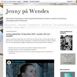 Jennys julkalender 18 december 2019 - noveller, film och uppgifter