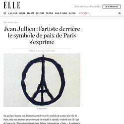 Jean Jullien : l'artiste derrière le symbole de paix de Paris s'exprime