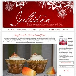 Jultiden - Julbak & pyssel - Äpple och Kanelmuffins